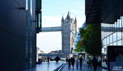 Tower Bridge et Mairie de Londres