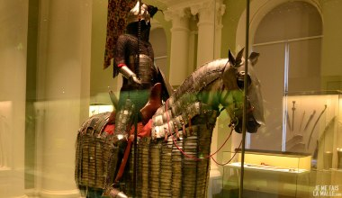 Armure d'un cavalier arabe