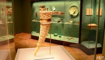 Corne d'ivoire sculptée arabe