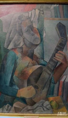Picasso La femme à la mandoline