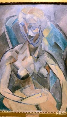 Picasso Jeune femme