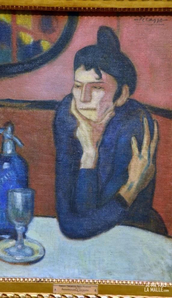 Picasso Le buveur d'absinthe