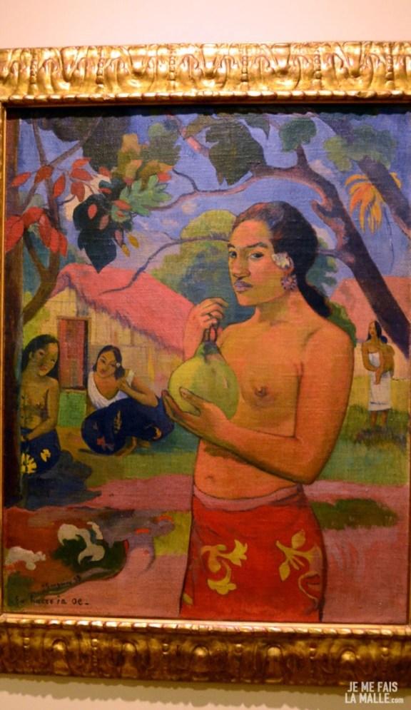Gauguin Femme au Fruit