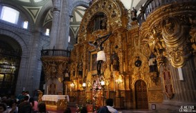 Intérieur de la cathédrale de Mexico