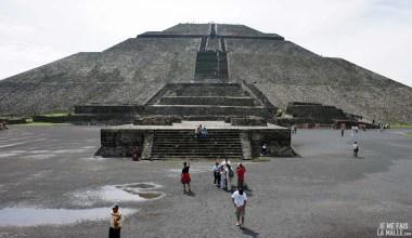 Temple du Soleil de Teotihuacan