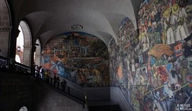 Fresque du Palacio Nacional de Mexico