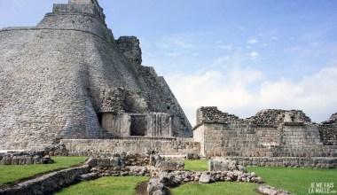 Pyramide du Magicien à Uxmal