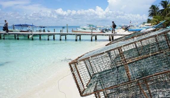 Casiers à langoustes sur la Isla Mujeres