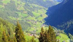 Vue sur la vallée du Grossglockner