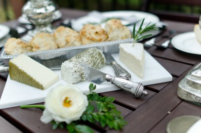 Simple Cheese Plate