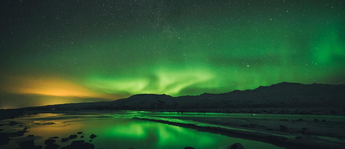 Les aurore boréales ; un phénomène naturel magnifique