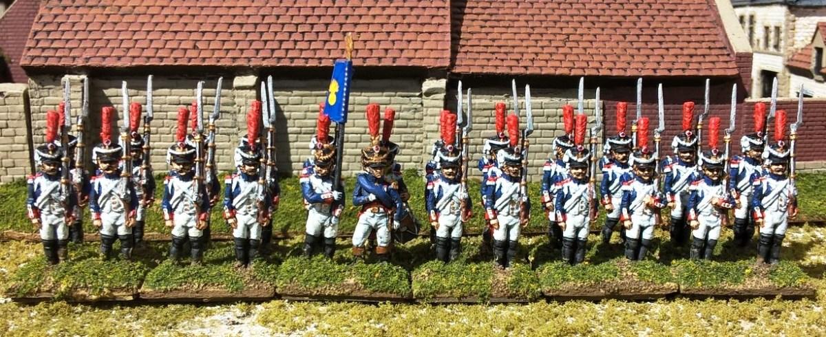 6mm Napoleonic  French Grenadiers