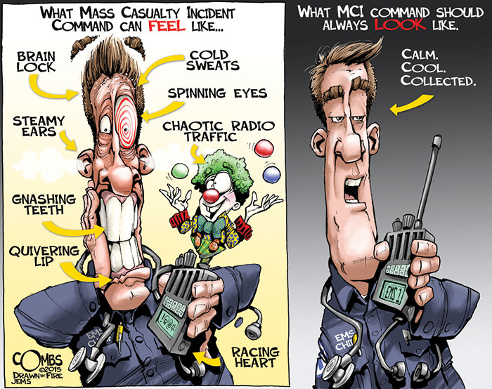 Paul Combs May 2015 Cartoon  Journal of Emergency Medical