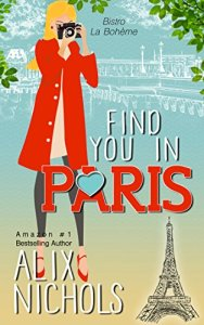 Find You in Paris Book Cover Illustrated