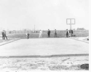 roque court at Lakeside Chautauqua