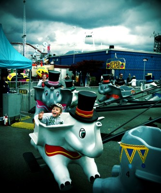 At the PNE. Best ever.