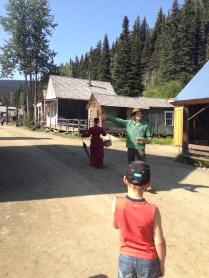 Mr. Tim Burr (har har har) takes us on a walking tour.