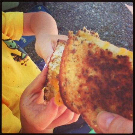 Grilled cheese are awesome!