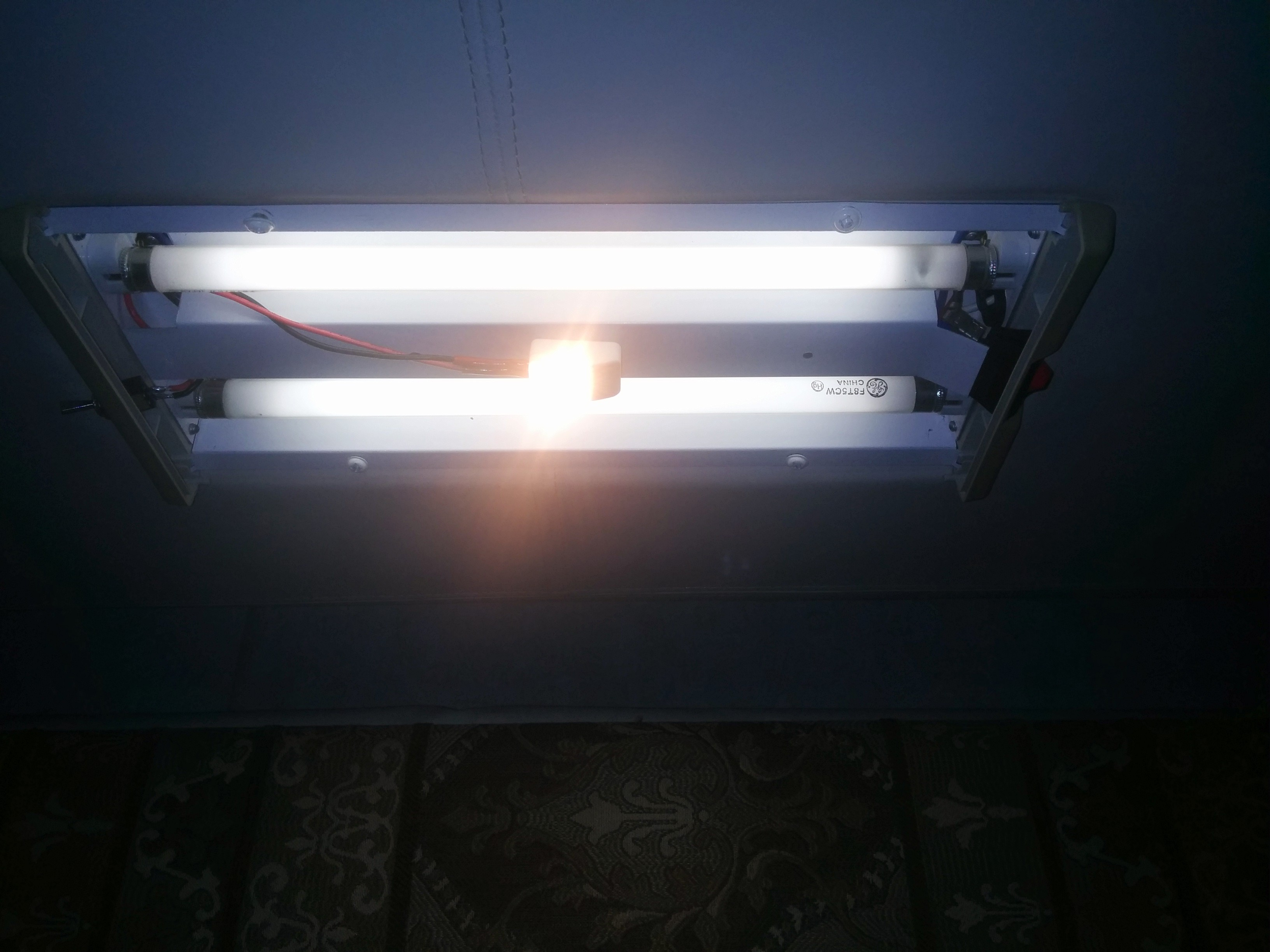 An Inexpensive LED add on for our Fluorescent lights – JenEric Ramblings