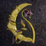 Goldwork Bluebell