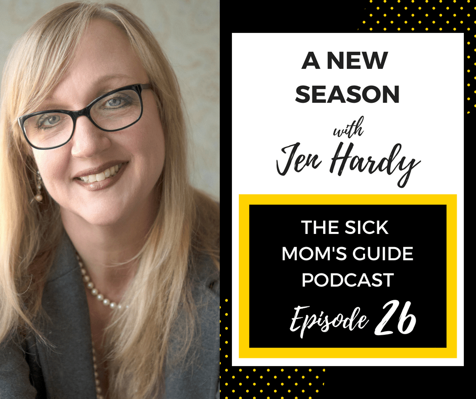 The End of season 1 and the beginning of season 2 starting on the sick moms guide podcast