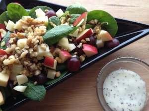 Apple, Grape Havarti Salad