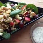 Apple, Grape Havarti Salad