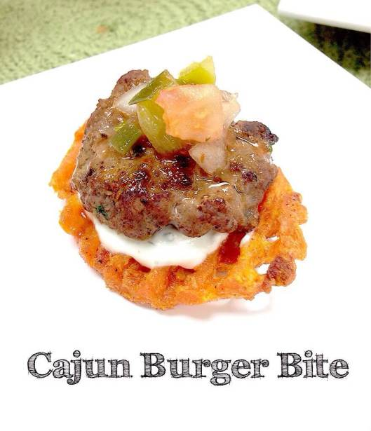 Cajun Burger Bites