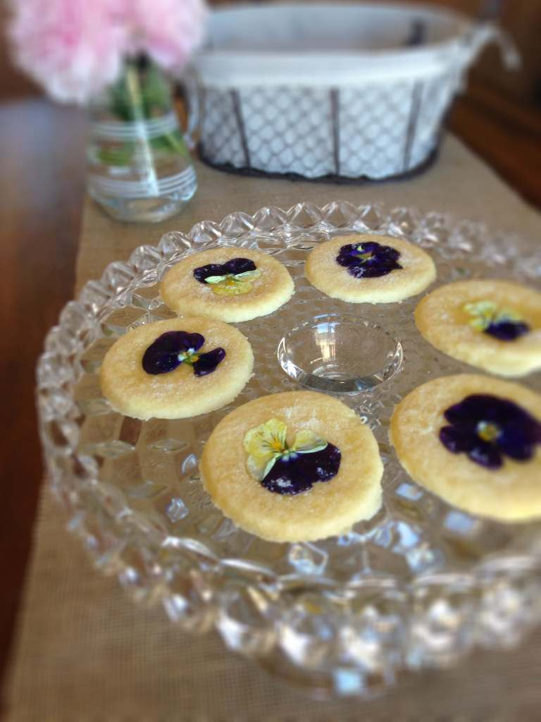 Sparkling Summer Sugar Cookies for Garden Party