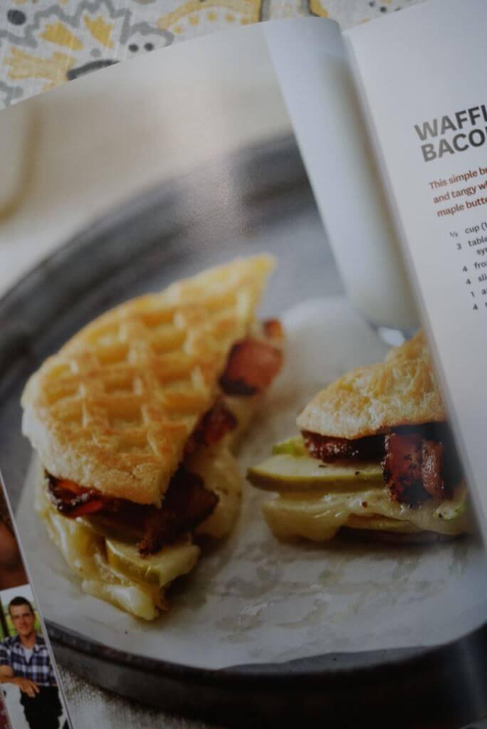 Waffle Panini Sandwich