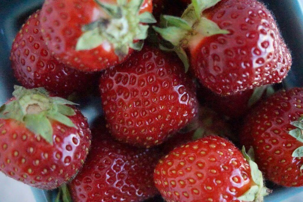 bowl of strawberries com