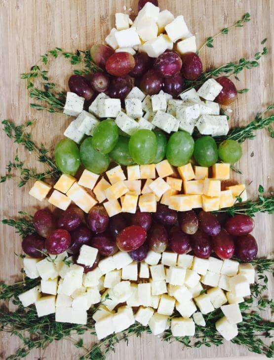 Christmas Cheese Tree