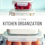 5 Kitchen Organization Tips + Soft & Chewy Pumpkin Cookies