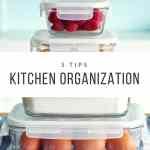 5 Kitchen Organization Tips + Soft & Chewy Pumpkin Cookies