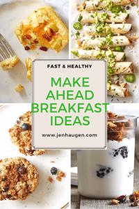 Make-Ahead Breakfast Ideas