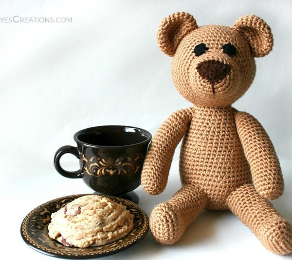 Classic Crochet Teddy Bear