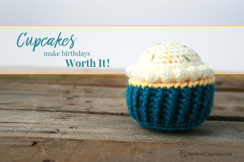 Classic Crochet Cupcake Jen Hayes Creations