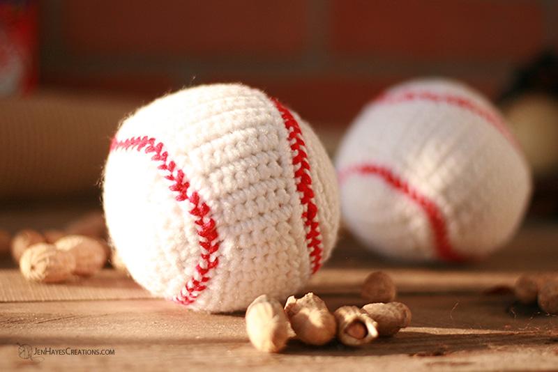 Crochet Baseball Jen Hayes Creations