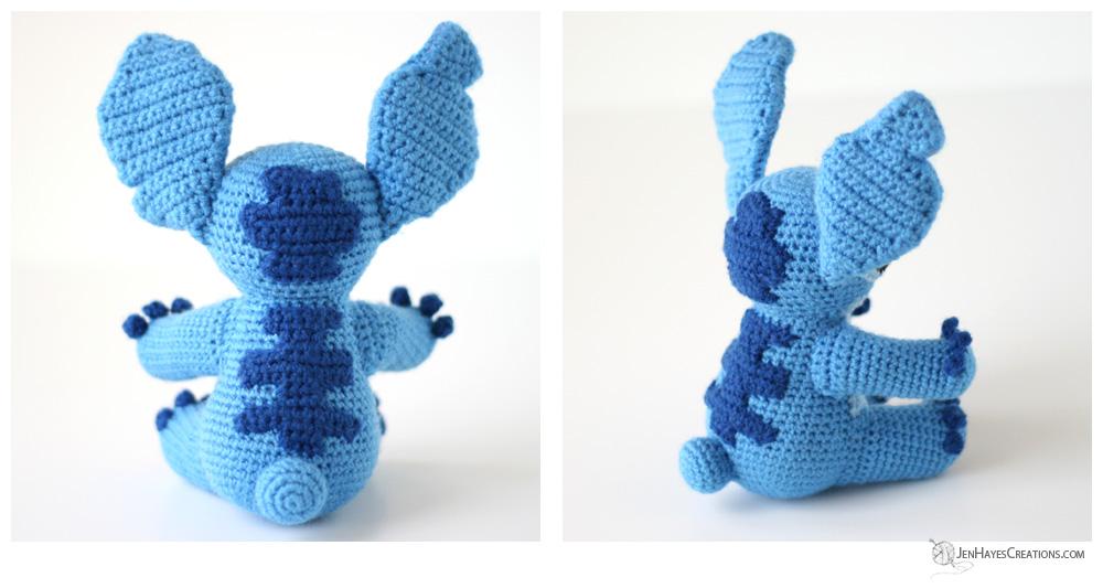 Disney's Stitch Amigurumi Crochet Pattern Printable PDF #ad ... | 533x1000