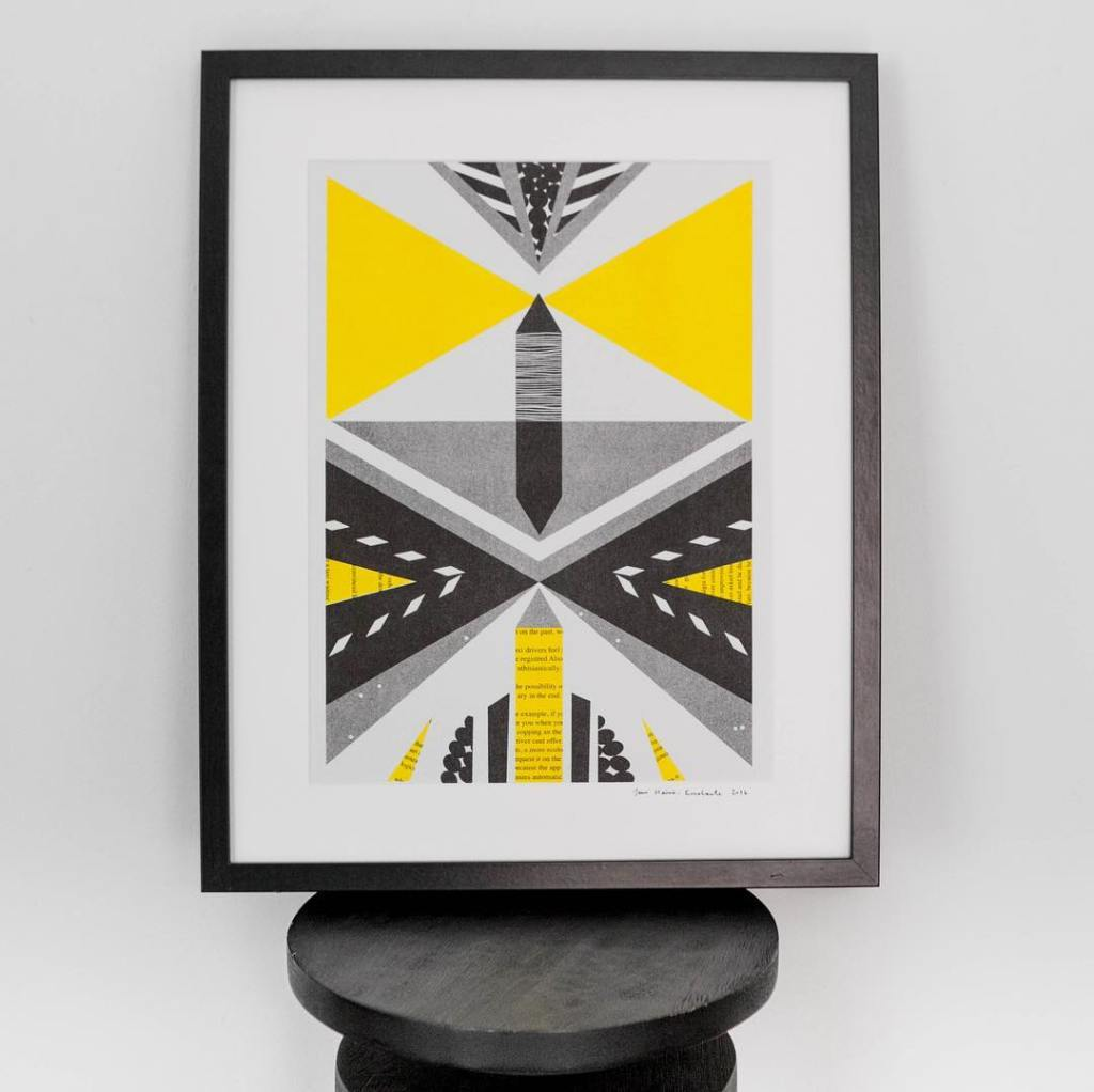 Yellow Illustration - Home
