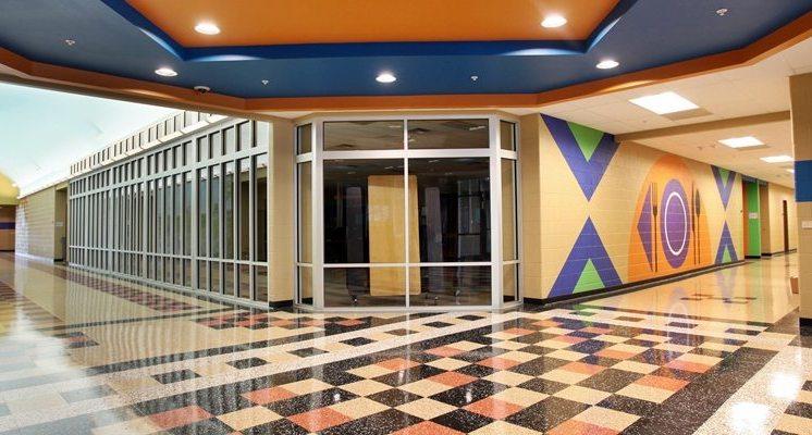 Prospect Elementary School Hallway
