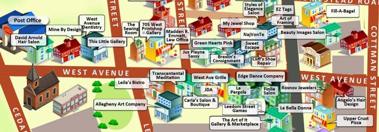 Map of Jenkintown