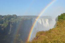 Lunar Rainbow' In Victoria Falls - Year