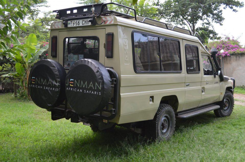 Jenman African Safaris | Vehicles | 4x4 Open Toyota Land Cruiser