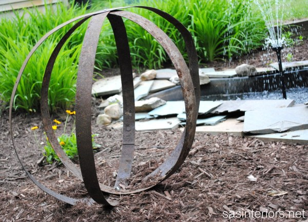 DIY Outdoor Art Sculpture Garden
