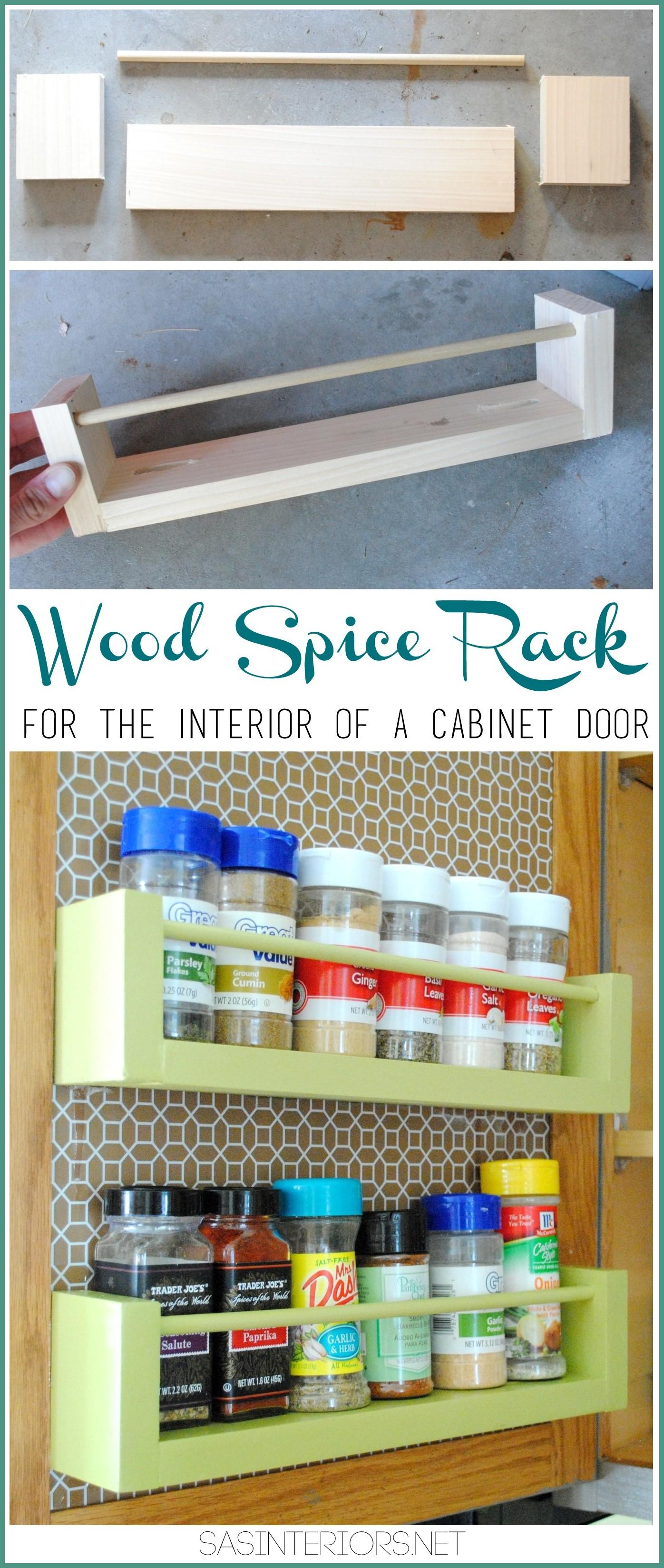 diy wood spice rack jenna burger design llc