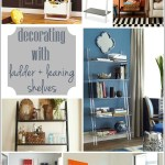 Decorating With Leaning Ladder Shelves Jenna Burger Design Llc