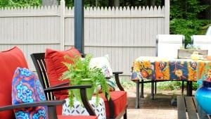 Creating An Outdoor Living Space Jenna Burger Design LLC