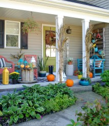 Fall Front Porch. With Color - Jenna Burger