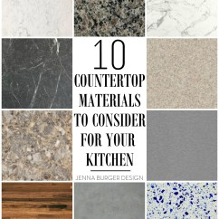 Kitchen Countertops Materials Rug For 10 Countertop To Consider The